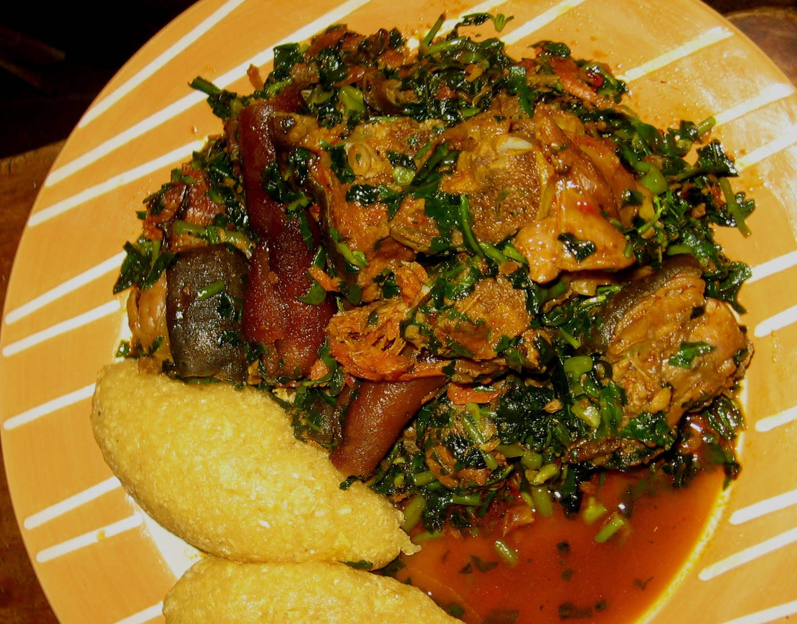 Edikang ikong vegetable soup african food network prepare forumfinder Image collections