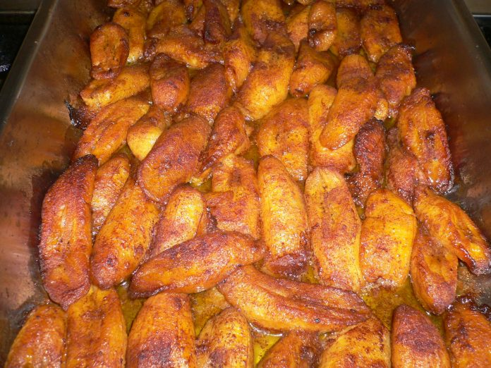 Baked Plantain Load