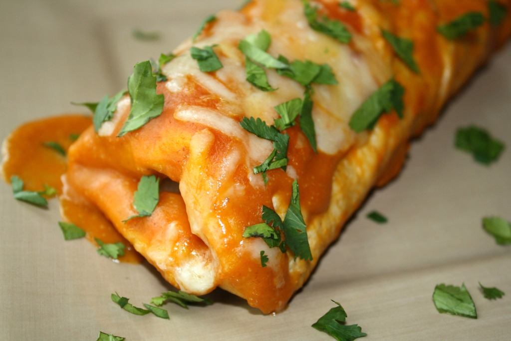 Spinach Enchiladas African Food Network