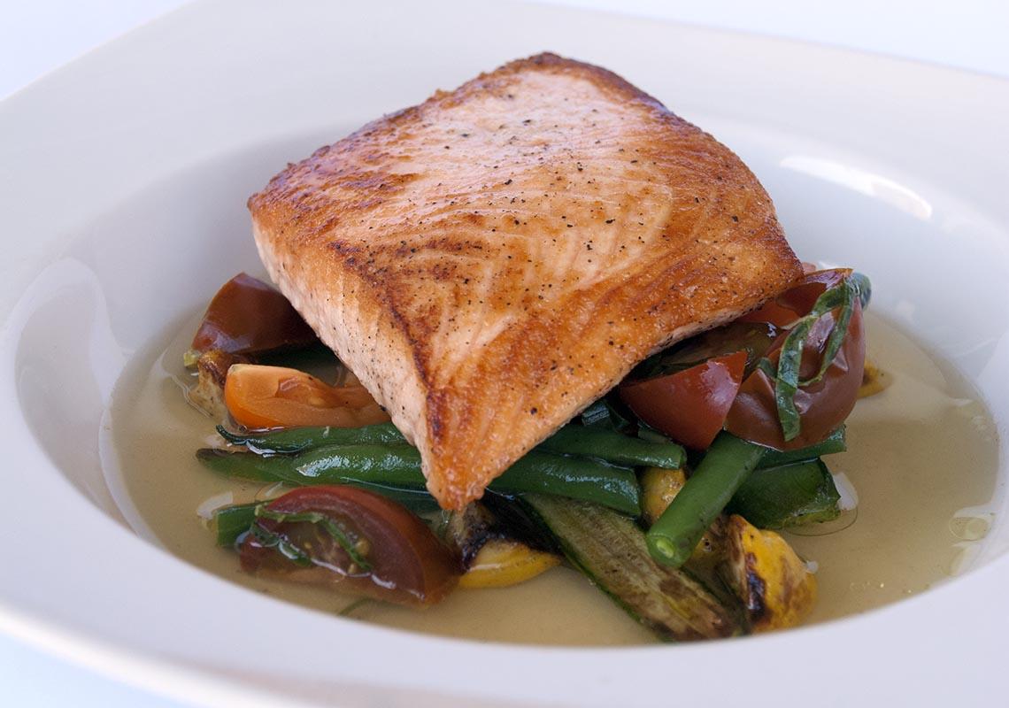 Pan Seared Salmon Food Network