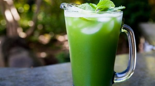 Cucumber Extract Mint Drink (Agua frescas)