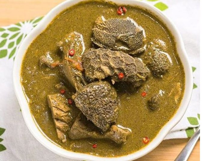 Miyan Kuka (Baobab Leaves Soup)