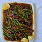 Egyptian-style green bean stew