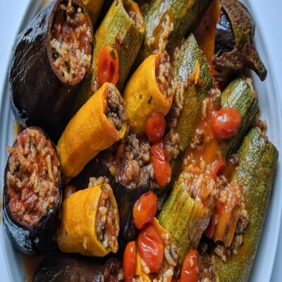 Mahashi (Middle Eastern stuffed vegetables)