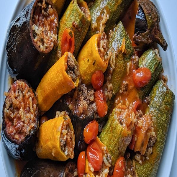 Mahashi (Middle Eastern stuffed vegetables)