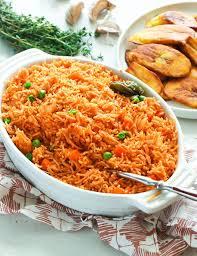 pan toasted jollof rice